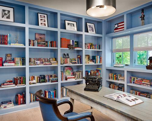 houzz home office bookshelves design ideas remodel
