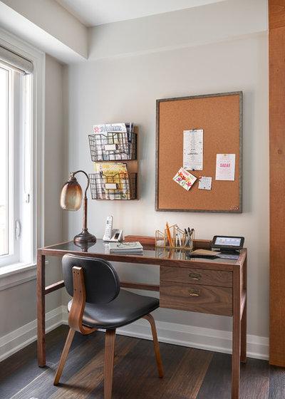 Rétro Bureau à domicile by Casa Perfecta Inc