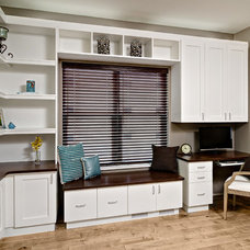Contemporary Home Office by Closets For Life