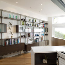 Modern Home Office by Feldman Architecture, Inc.