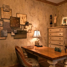 Traditional Home Office by Metro Interiors