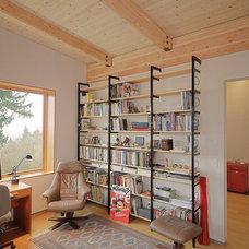 Contemporary Home Office by STUDIO-E Architecture