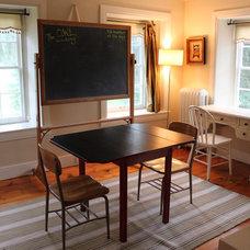 Farmhouse Home Office by Amy Renea