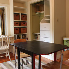 farmhouse home office by Amy Renea