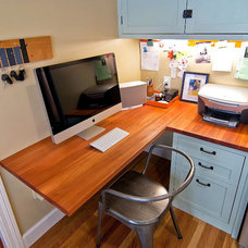 Traditional Home Office by McCaffrey Custom Construction, Inc.