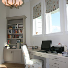 Beach Style Home Office by Finishing Touches