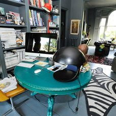 Eclectic Home Office by Beccy Smart Photography