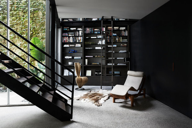 Contemporary Home Office by INLITE