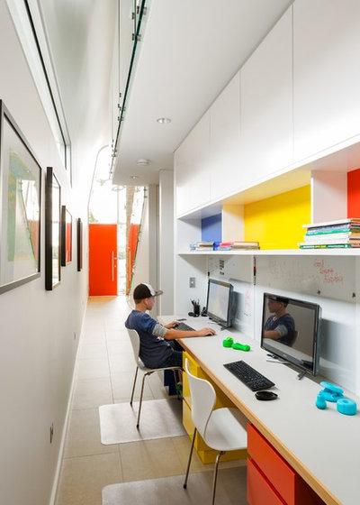 コンテンポラリー ホームオフィス・書斎 by Utz-Sanby Architects