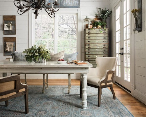 outstanding shabby chic office | Shabby-Chic Style Home Office Design Ideas, Remodels & Photos