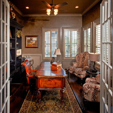 Traditional Home Office by Jamestown Estate Homes