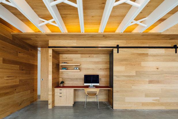 コンテンポラリー ホームオフィス・仕事部屋 by Forest and Wood Products Australia Ltd