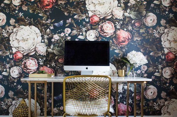 Contemporary Home Office by LBG Designs