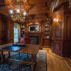 Traditional Home Office by Indecor Pro LLC
