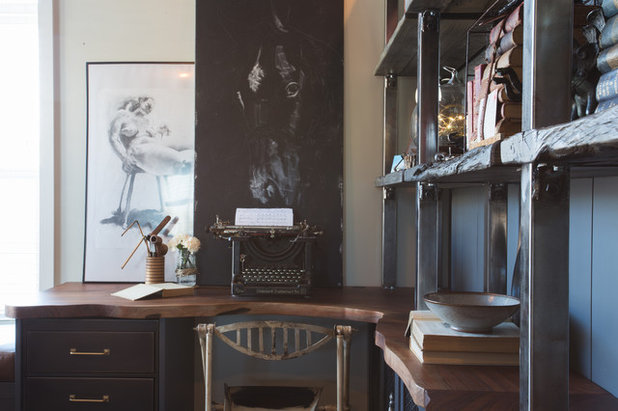 Лофт Кабинет by Jamie Banfield Interior Designs