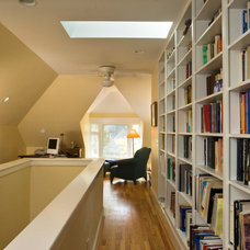 Contemporary Home Office by Ellen Cassilly Architect