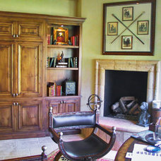 Traditional Home Office by Peter's Custom Picture Framing & Gallery