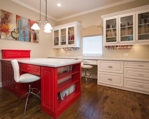Craft Room Design Ideas, Remodels & Photos