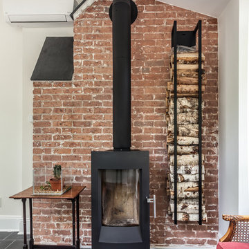 Free Standing Wood Burning Stove