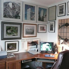 Eclectic Home Office Frenchflair