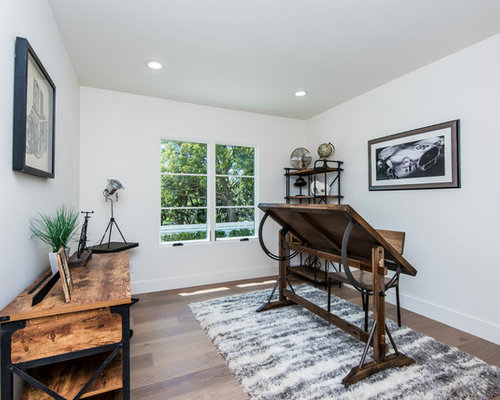 Best Rustic Home Office Design Ideas & Remodel Pictures | Houzz