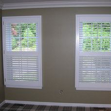 Traditional Window Treatments by The Shutter Company