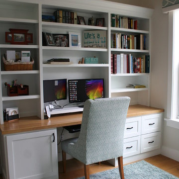 Functional Coastal Home Office