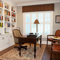 Traditional Home Office by O'Connor Brehm Design-Build