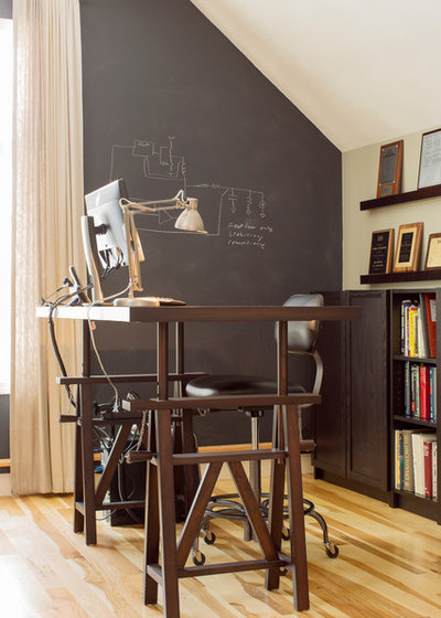 New Contemporary Home Office by Hammond Design