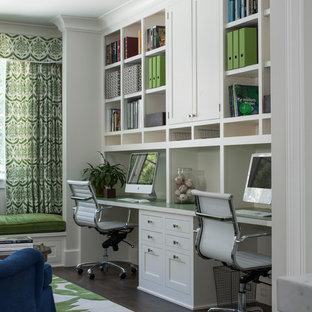 Стильный дизайн: кабинет в стиле кантри - последний тренд