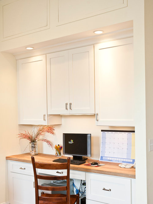 Kitchen office nook home design ideas pictures remodel for Kitchen office nook