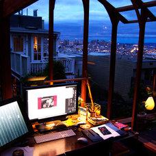 Contemporary Home Office Garden Studio