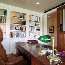 Traditional Home Office by Crawford Builders