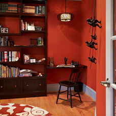Traditional Home Office by Designing Solutions