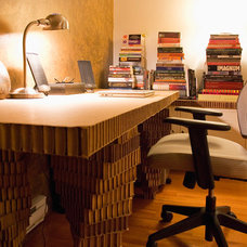Eclectic Home Office by Heather Merenda