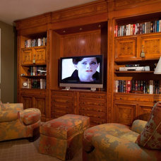 Traditional Home Office by Geller Design Group, Inc.