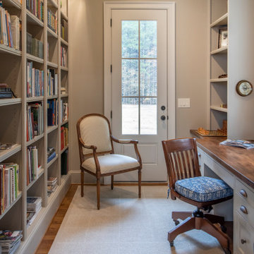 Gentleman's Office/Library in the house.
