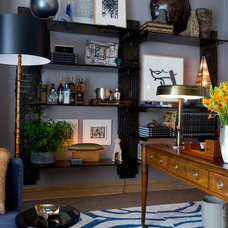 Contemporary Home Office by Rikki Snyder