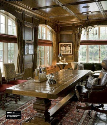 Traditional Home Office by Laurel Feldman Interiors, IIDA