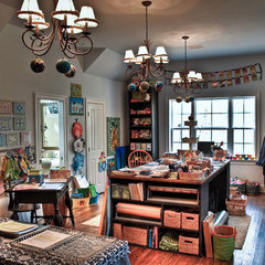 traditional home office by Wynn & Associates