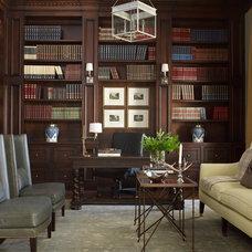 Traditional Home Office by Bellacasa Design Associates, Inc.