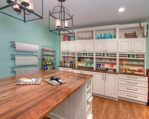 bare kitchen cabinets best craft room design ideas amp remodel pictures houzz 1483