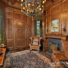 Traditional Home Office by Anything But Plain, Inc.