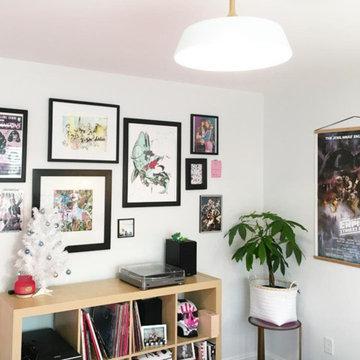 Girl Boss Art Studio Gallery Wall