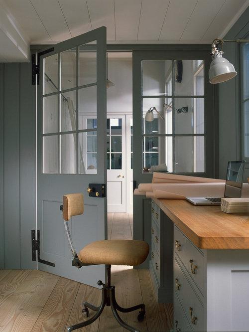 industrial home office idea in london