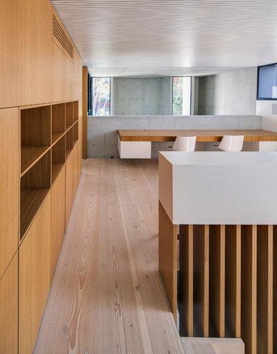 Moderne Bureau à domicile by Nobbs Radford Architects