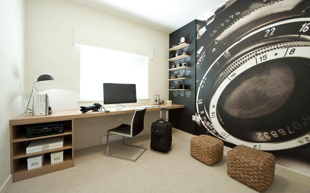 Classique Chic Bureau à domicile by Portico Design Group