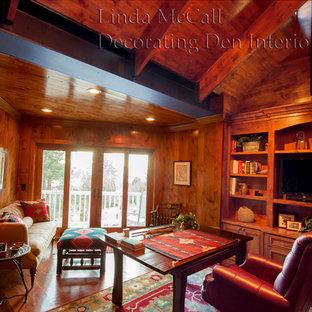 Стильный дизайн: кабинет в стиле неоклассика (современная классика) - последний тренд