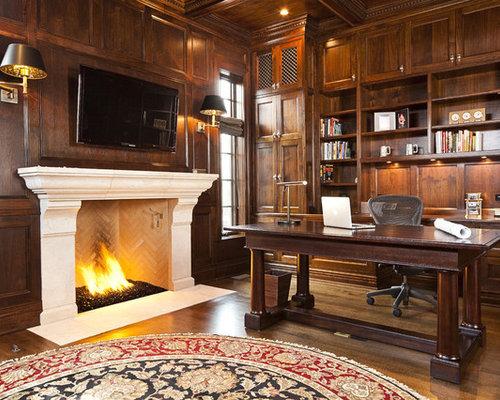 Desk Fireplace | Houzz