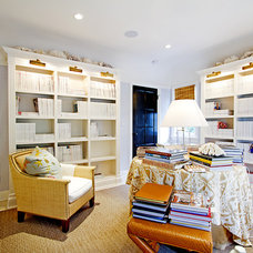 Traditional Home Office by Globus Builder